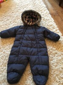 Boy's John Lewis snow suit, 3-6 months