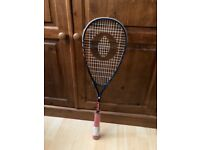 Oliver squash rackets. Comp 1999. Composite frame tech. It was £25. Now £15.