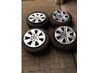 BMW 3 Series Winter Wheel and Tyre Set