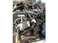 Vw Audi 1.8 turbo 20v engine and gearbox with wiring and ecu AUM