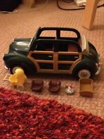Sylvanian family car & accessories