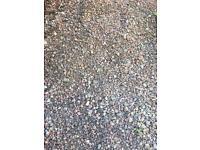 Free gravel for driveways etc