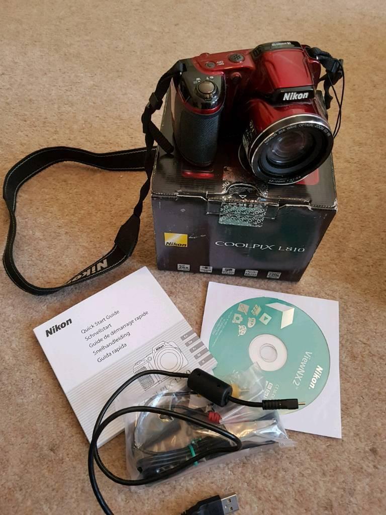Nikon L810 Camera In Salisbury Wiltshire Gumtree
