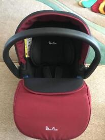 Silver Cross Simplicity Car Seat: Vintage Red