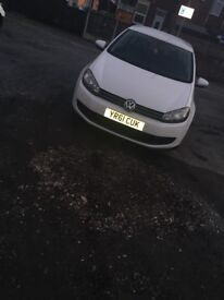 White Volkswagen Golf Blue Tech 2011 (61) 2L Diesel