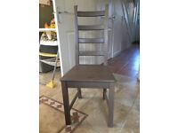 Ikea stornas square table (105cm by 105cm) and four Ikea Kaustby chairs Used but good condition.