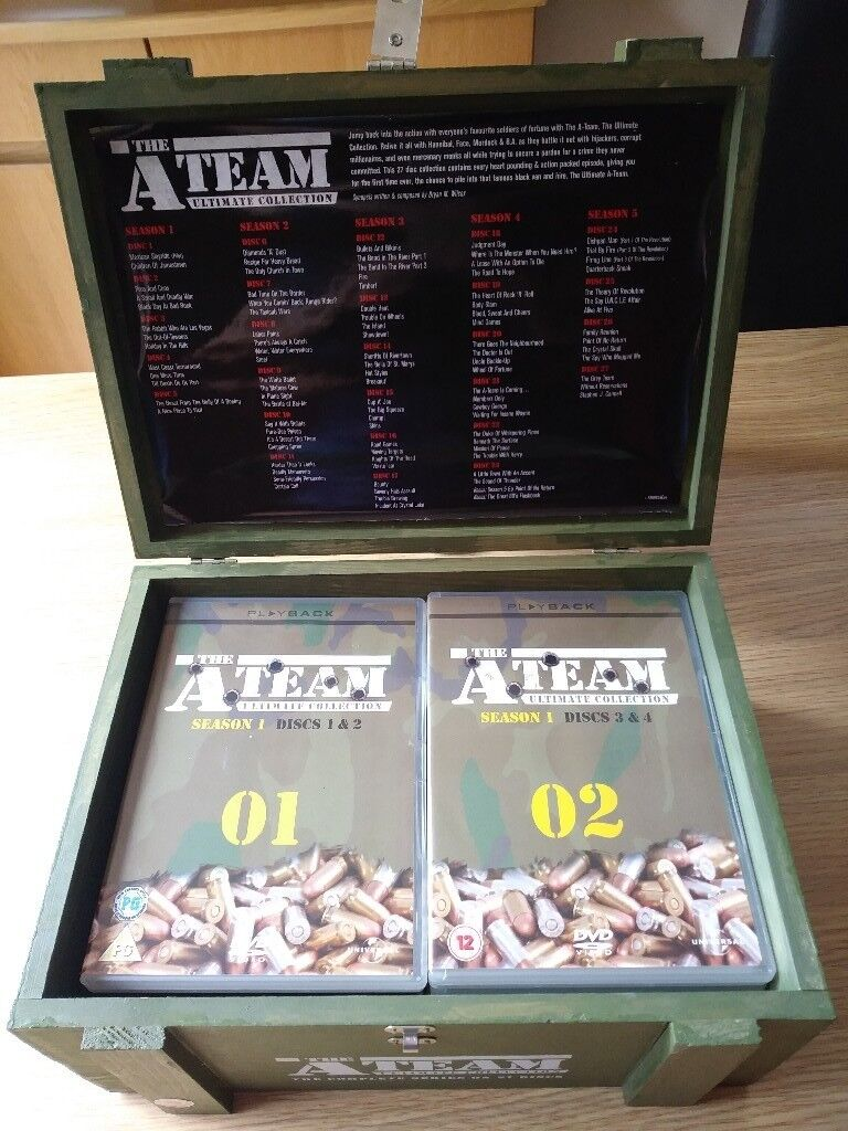 The A Team The Ultimate Collection Dvd In Bagshot Surrey Gumtree