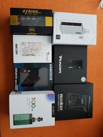 Various Vape Mods Brand New or Mint Condition Boxed