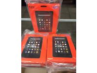 amazon fire tablet wifi 8gb, Android white & black both available brand new sealed