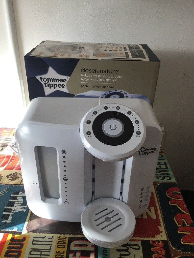 Tommee Tippee Perfect Prep Machine With Box Instructions Pet
