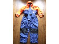 Fladen Flotation Suit Rescue System One Piece, Large used