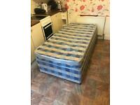 Single bed with mattress + Delivery