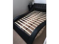 Double Bed Frame without Mattress