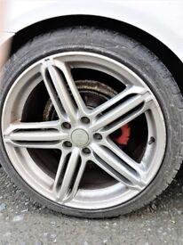 "18"" Audi Wheel Rims x 3"