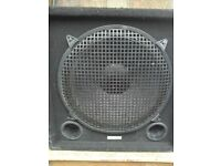 "15"" Bass Cab / P.A. Sub - Twin Ports / Protective Grille"