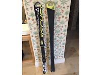 Fischer 140cm skis