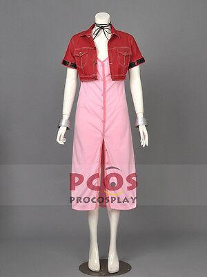Best Final Fantasy VII Aerith Gainsborough Cosplay Costume Custom - Best Fantasy Costumes