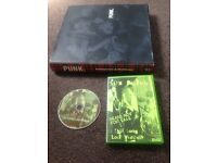 Punk book and dvd
