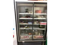 Large Sliding Door Display Fridge