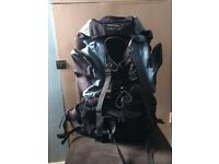 Large Rucksack suitable for hiking