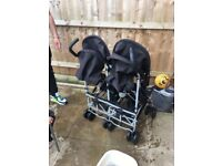 Babies r us double pushchair