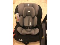 Joie isofix base and car seat