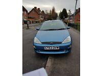 Ford focus zetec 1.8 new mot until Feb 13 2019, new clutch, tyres, coil springs, very reliable