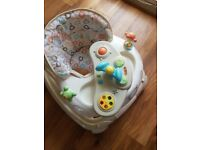 Argos baby walker and rocker/ high chair / bouncer multi gym