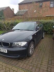 BMW 1 SERIES BLACK 3 DOORS