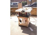 Bosch GTS10 XC table saw - not even six months old - excellent condition !!!
