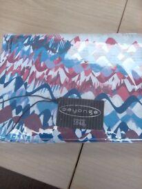 Deyongs 100% Cotton King Size Duvet Set Colour Squid Blue