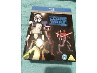 Star Wars Clone Wars Seasons 1-4 - Blu Ray - £20