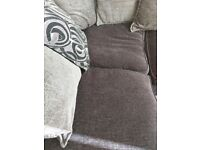 Dfs right corner sofa in excellent condition no mrks or tears