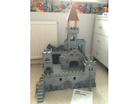 World of Imagination Wooden Castle & Accessories