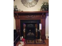 Old Victorian Fireplace insert
