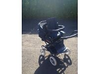 Single/Double Buggy Bertini Bidwell 905 Pram