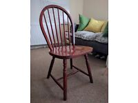 Fancy and Sturdy Wooden Chair