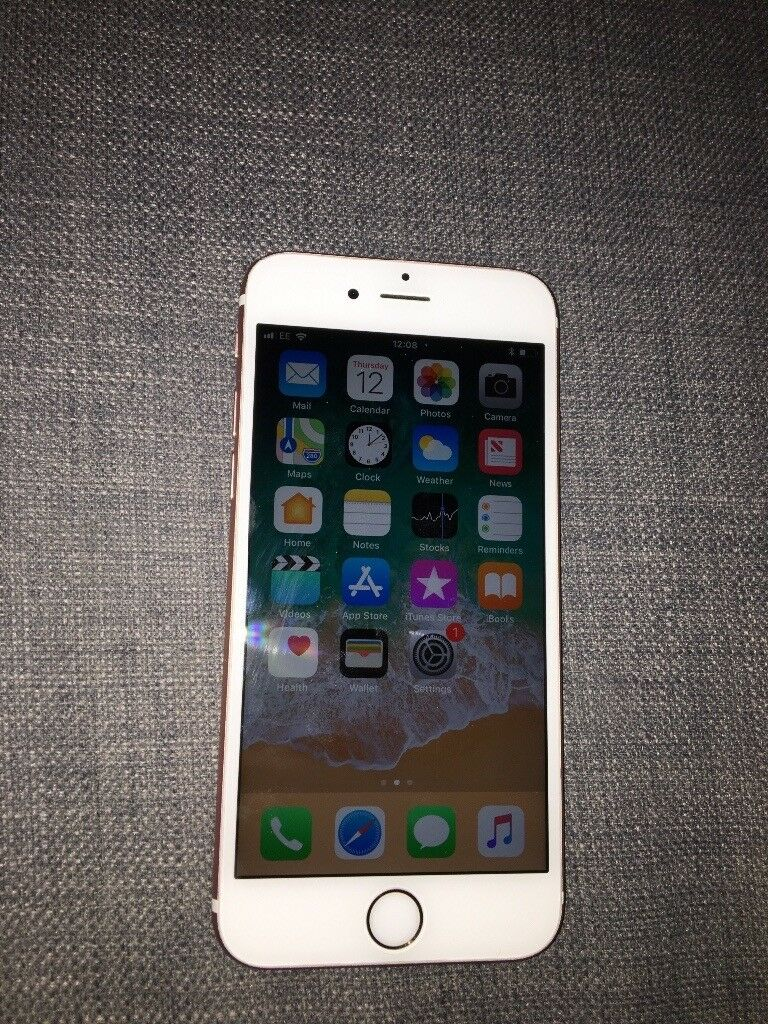 Unlocked iPhone 6s Rose Gold (64gb)