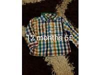 Baby boy cclothe 12 18 months