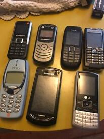 Lot of phones