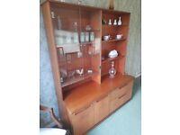 Vintage G plan dresser/display unit