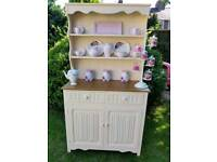 Lovely vintage Welsh dresser upcycled would look lovely in any kitchen