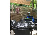 Outdoor Deluxe table and 4 chairs, Probably B&Q £170 ono