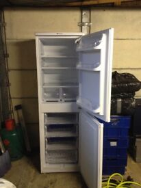 Large Hotpoint fridge freezer, VGC.