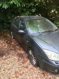 Ford Focus st170 spares or repairs