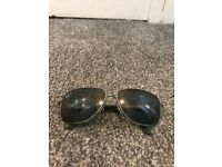 Mens ray ban P sunglasses