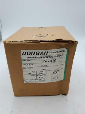Dongan Single Phase Transformer 35-y010 Pri. 120x240 Sec. 1632 0.100kva