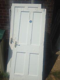Sold as seen 8 internal fire doors