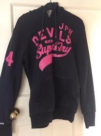 Woman's genuine Superdry hoodie