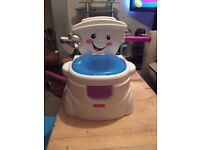 Singing potty in new condition